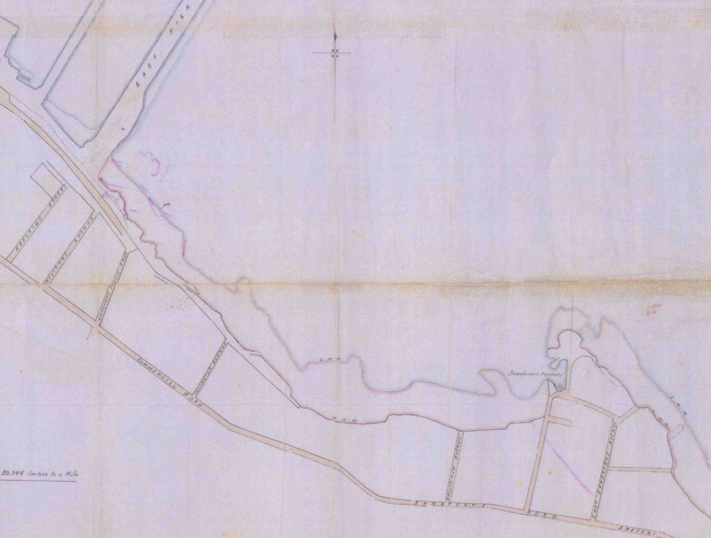 Foreshore Leasehold Map 1910