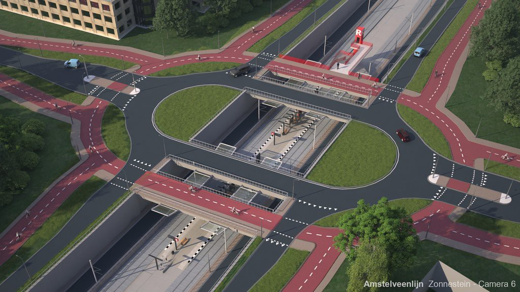 Proposed junction in Amsterdam