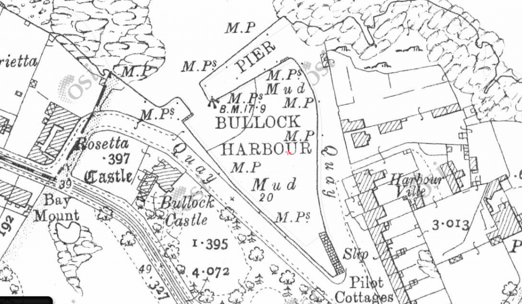 Map of Bullock from about 1911