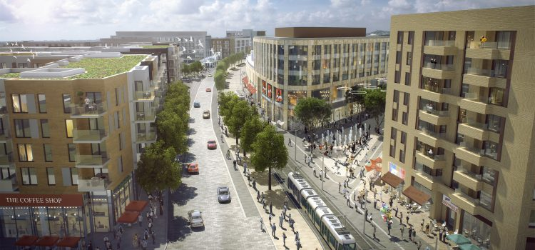 Designs published for Cherrywood town centre